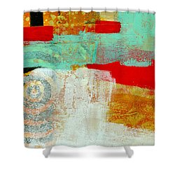 Moving Through 24 Shower Curtain by Jane Davies