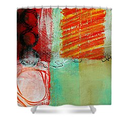 Moving Through 4 Shower Curtain by Jane Davies