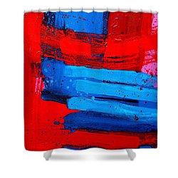 Mox Nox Shower Curtain by John  Nolan