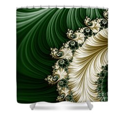 Mozart's Feathers Shower Curtain by Mary Machare