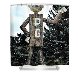 Mr. Pg Shower Curtain
