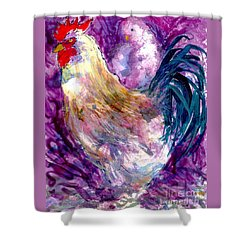 Mr. Rooster  Shower Curtain