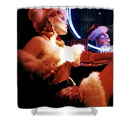 Mrs. Claus Shower Curtain