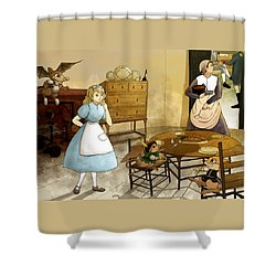 Mrs. Gage's Kitchen Shower Curtain