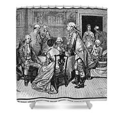 Mrs. Murray And Lord Howe Shower Curtain by Granger