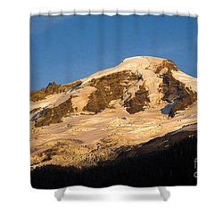 Shower Curtain featuring the photograph Mt.baker At Sunset  by Yulia Kazansky