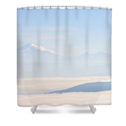 Mt. Baker From San Juan Islands Shower Curtain