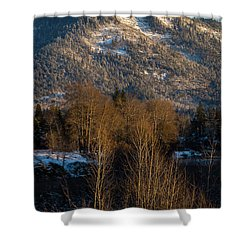 Mt Baldy Near Grants Pass Shower Curtain by Mick Anderson