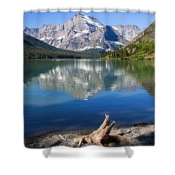 Mt Gould Reflections Shower Curtain