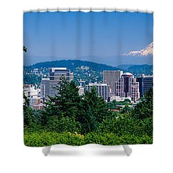 Mt Hood Portland Oregon Usa Shower Curtain