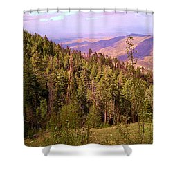 Mt. Lemmon Vista Shower Curtain