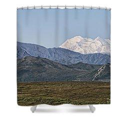 Mt. Mckinley Aka Denali Shower Curtain