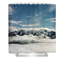 Shower Curtain featuring the photograph Mt Olympus by Greg Reed