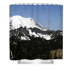 Mt Rainer From Wa-410 Shower Curtain