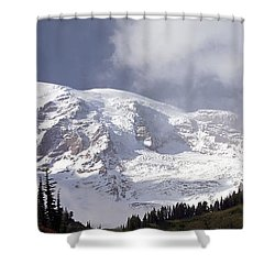 Shower Curtain featuring the photograph Mt Rainier  by Greg Reed