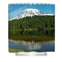 Shower Curtain featuring the photograph Mt. Rainier II by Tikvah's Hope