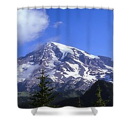 Mt. Rainier Shower Curtain