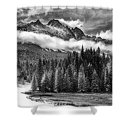 Mt Sneffels Shower Curtain
