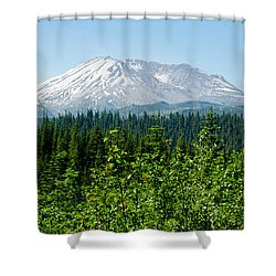 Mt. St. Hellens Shower Curtain
