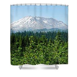 Mt. St. Helens Shower Curtain