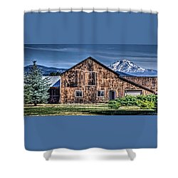 Shower Curtain featuring the photograph Mt. Adams by Thom Zehrfeld