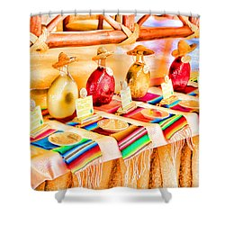 Shower Curtain featuring the photograph Mucho Tequila by Teresa Zieba