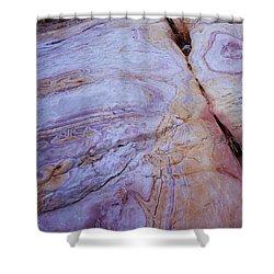 Muddy Mt. Sandstone B Shower Curtain