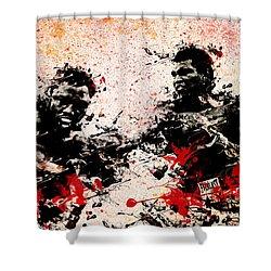 Muhammad Ali 2 Shower Curtain by Bekim Art