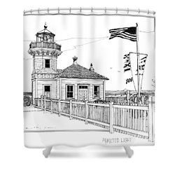Mukilteo Light Shower Curtain