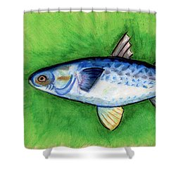 Mullet  Shower Curtain