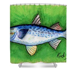 Mullet  Shower Curtain
