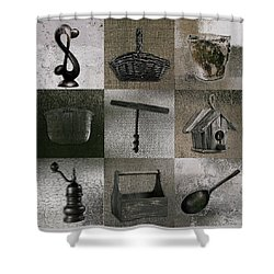 Multi Home Decor - 01v2f4c Shower Curtain by Variance Collections