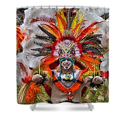 Mummer Wow Shower Curtain