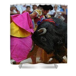 Mundo Torero Shower Curtain