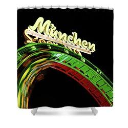 Munich Looping Shower Curtain by Hannes Cmarits