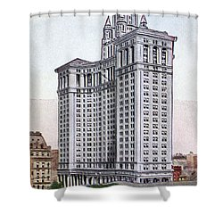Municipal Building Shower Curtain by Granger