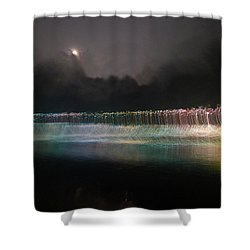 Munro River Reflections 4 Shower Curtain