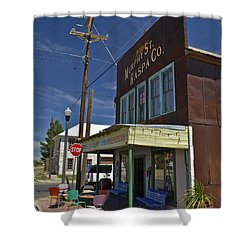 Murphy Street Raspa Shower Curtain