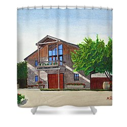 Murrietas Well Winery Shower Curtain by Mike Robles