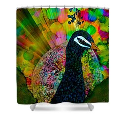 Murugan's Party Shower Curtain