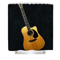 Muscial Memories II Shower Curtain by Tamyra Ayles