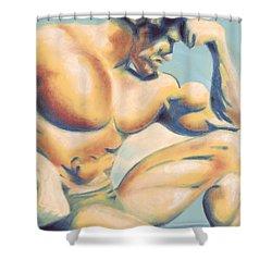 Muscle Beach Shower Curtain
