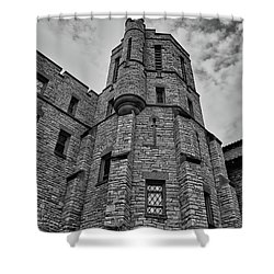 Museum At The Castle  8301 Shower Curtain by Guy Whiteley