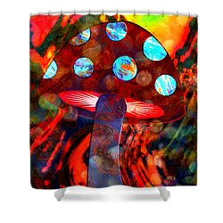 Mushroom Delight Shower Curtain