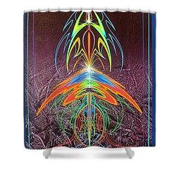 Music @ #11 Shower Curtain