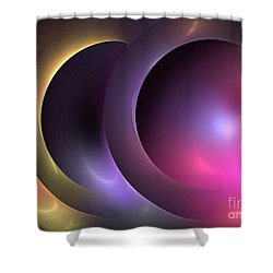 Music Of The Spheres Shower Curtain by Kim Sy Ok