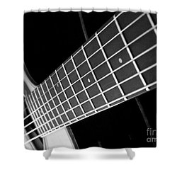 Shower Curtain featuring the photograph Music To My Soul by Andrea Anderegg