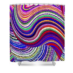 Music To The Eyes Shower Curtain