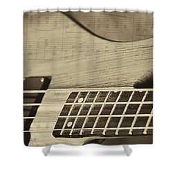 Musical Majesty Shower Curtain