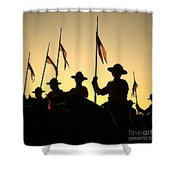 Musical Ride Shower Curtain